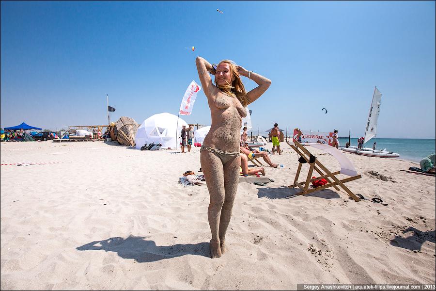 Нудиские пляжи крыма фото девушек