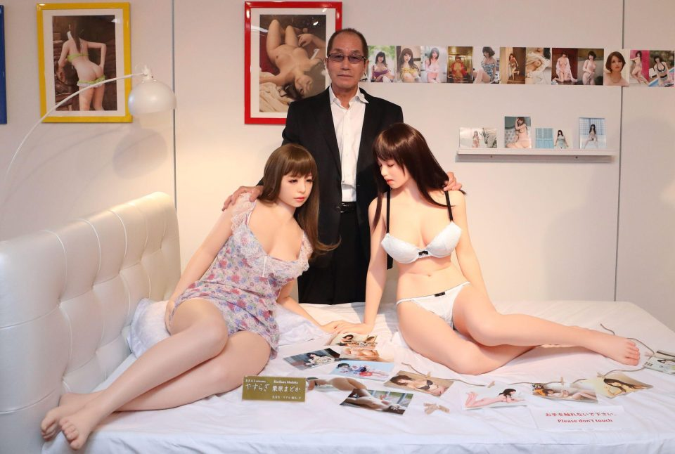 Современный японский секс