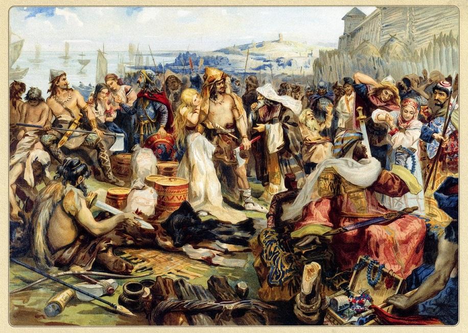 Доклад на тему русская история в картинах 8157
