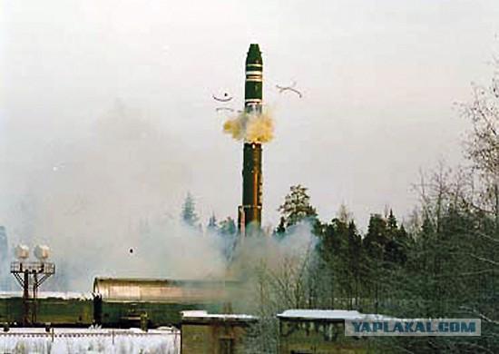 """Начались испытания ракетного комплекса железнодорожного базирования """"Баргузин"""""""