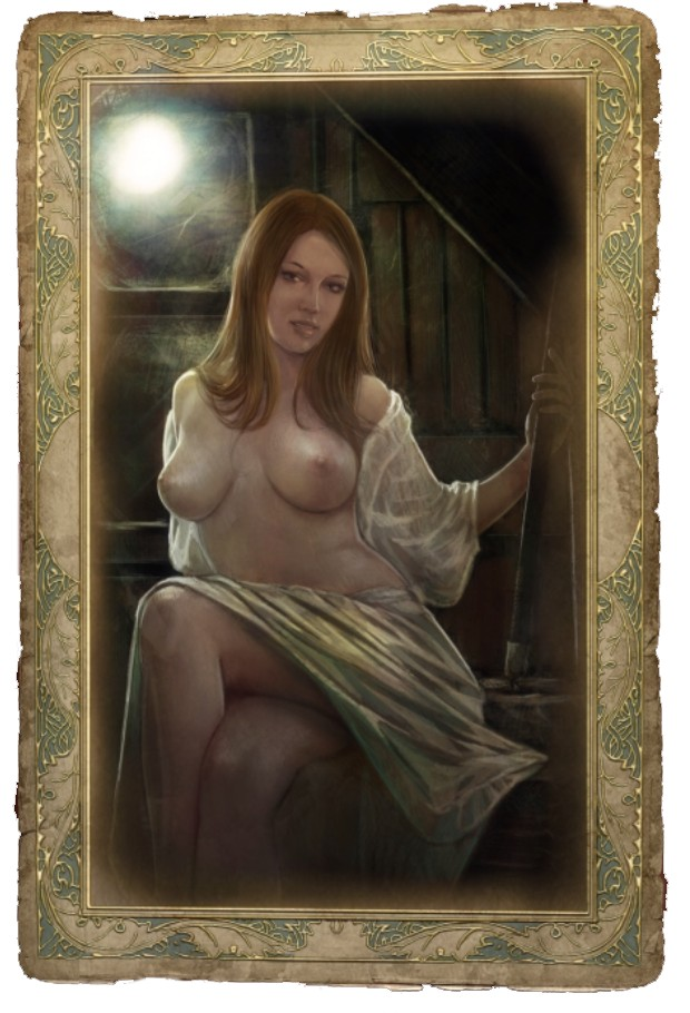 Sex cards in the witcher