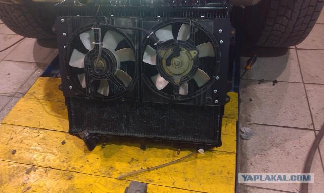 Эксперементы с охлаждением двигателя УАЗ