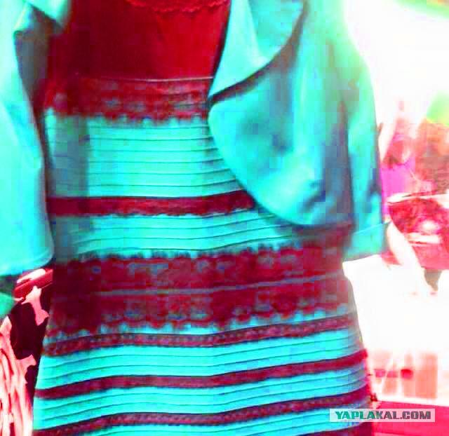 Цвет платья угадать