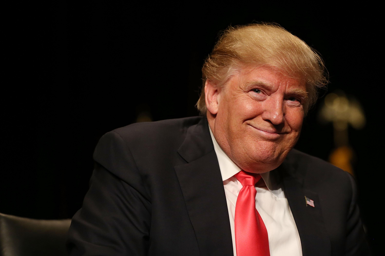 дональд трамп фото легко доехать