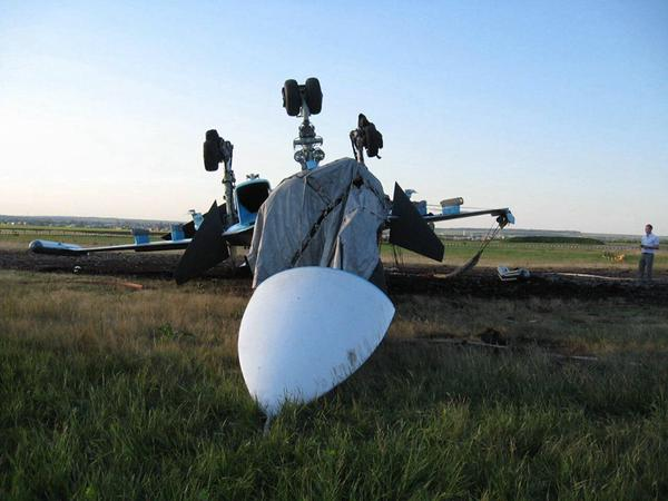 Видео аварии Су-34 в Бутурлиновке 4 июня 2015 года