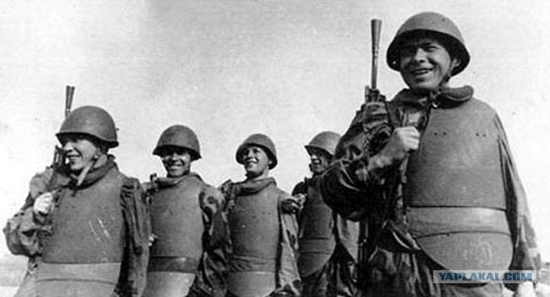 где воевали советские солдаты