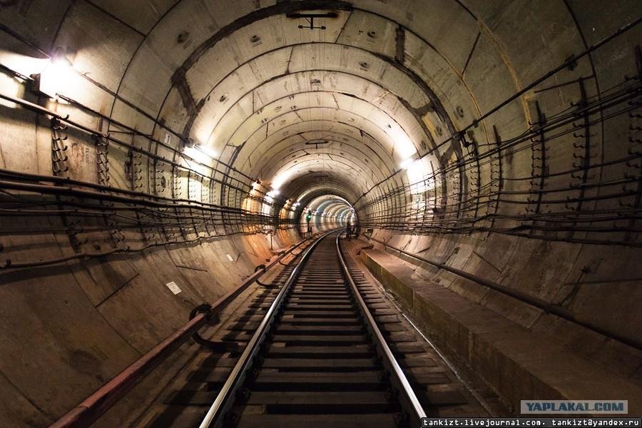 Схема тоннелей размыв
