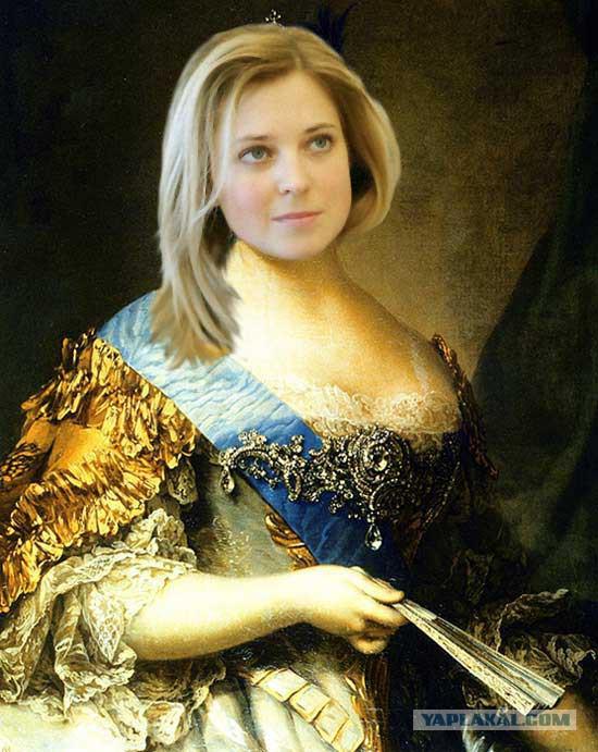 О царице Наталье