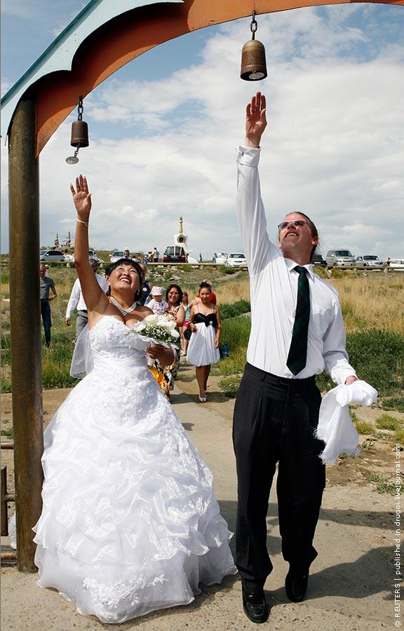 Тувинское свадебное платье