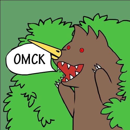 Картинка медведь из кустов что значит