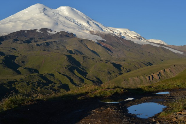 Восхождение на Эльбрус с севера. 01.08.2014