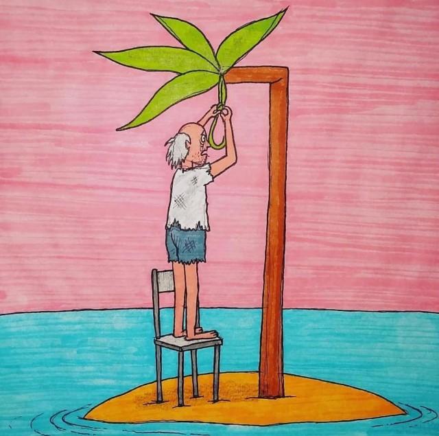 Капелька лютой наркомании! Комикс для взрослых от художника Джэффа Маханны