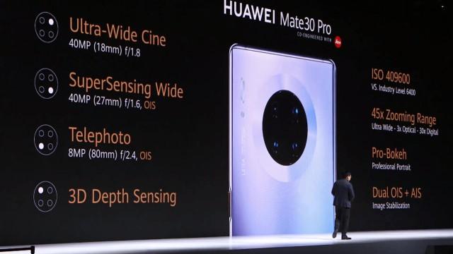 Huawei представила Mate 30 — свои первые смартфоны без сервисов Google