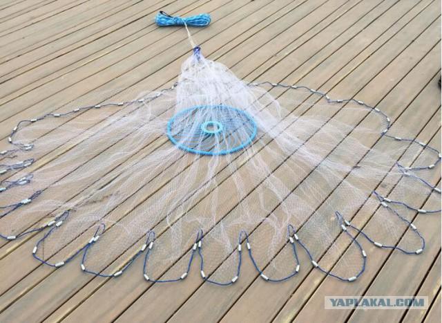 Как сделать парашют для рыбалки