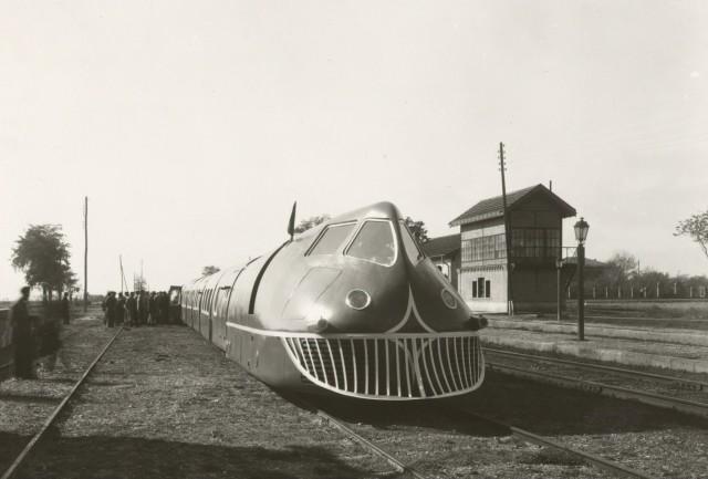 Прототип высокоскоростного поезда фирмы Талго