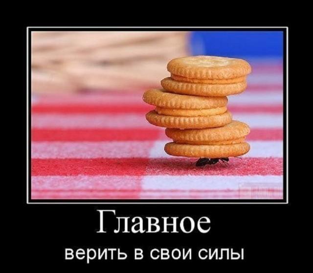 В любом деле главное - это вера в собственные силы