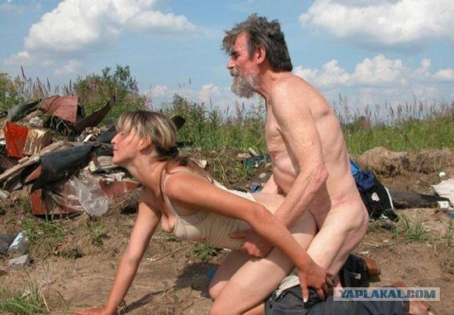 Бомжиху в жопу порно мерками