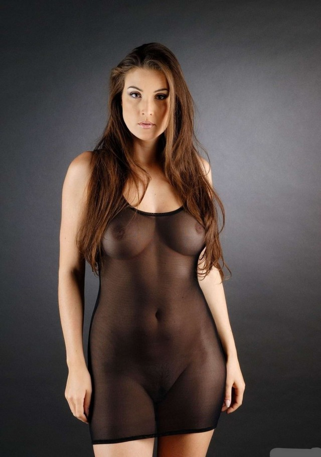 Nude see thru girls clothing pattinson