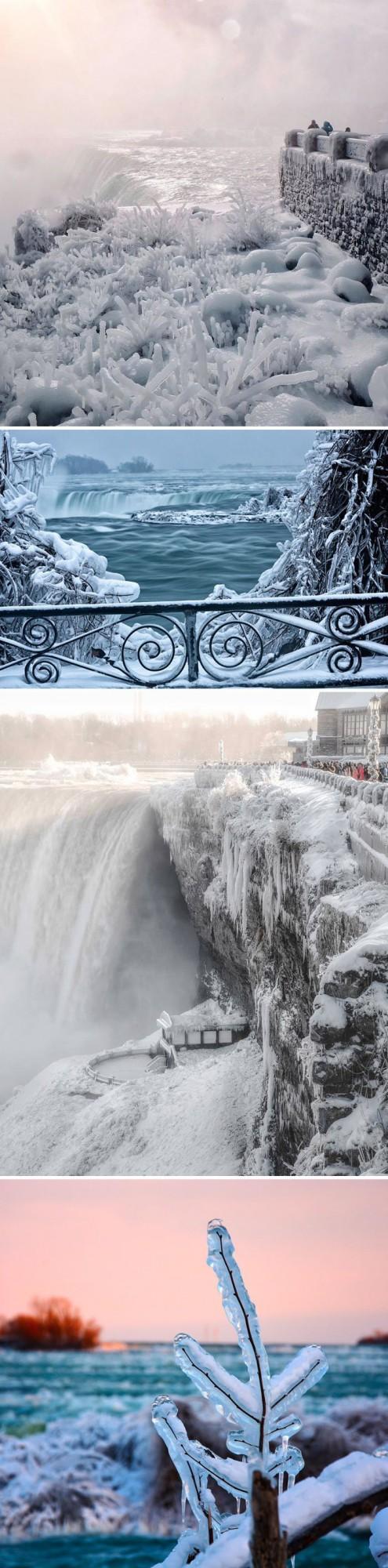 Лютые морозы, от которых трескаются стекла, настигли Канаду и США