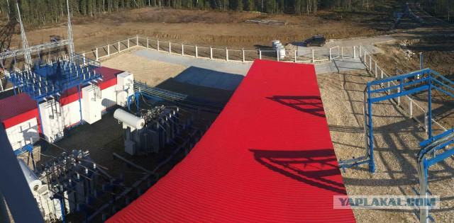 Как строят газовые кусты