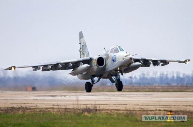 Украинские Су-25 – 299-я авиабригада (Кульбакино, Николаев)