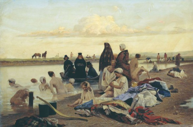 «Картина Репина «Приплыли»: о какой картине идёт речь, и кто действительно её автор