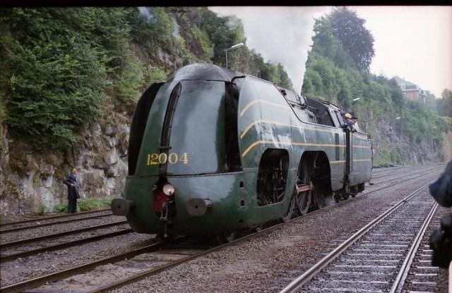 Бельгийский локомотив «Атлантический»