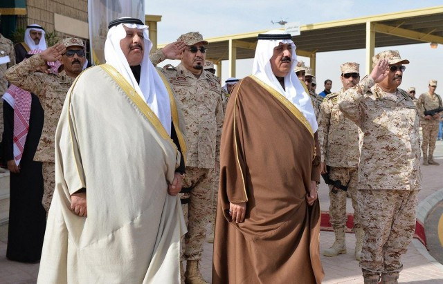 Показательные выступления саудовского спецназа