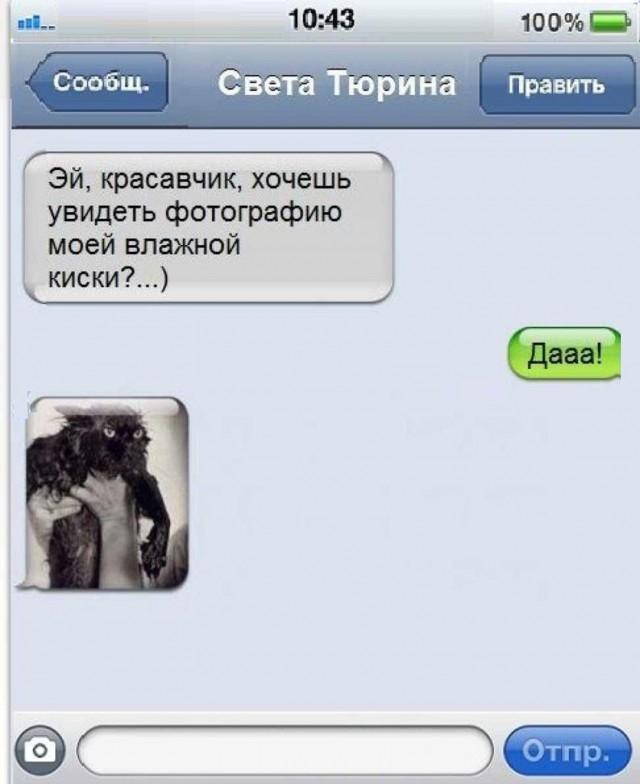 Прикольные смс картинки на телефон