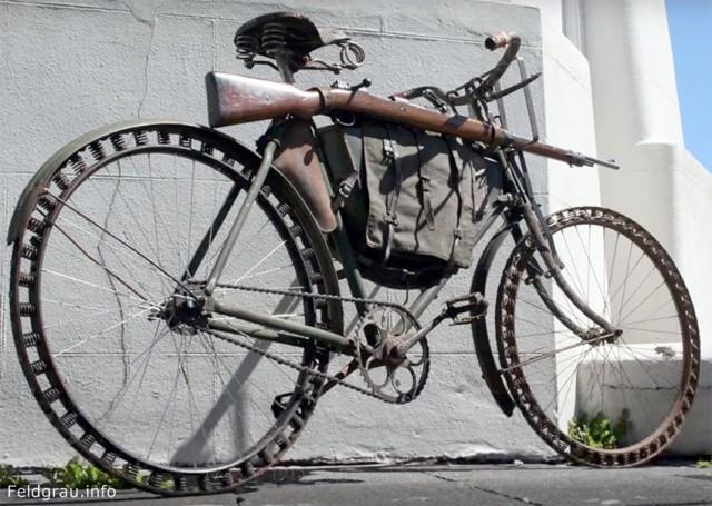 По велосипеду без резиновых\каучуковых колёс. (Victoria)