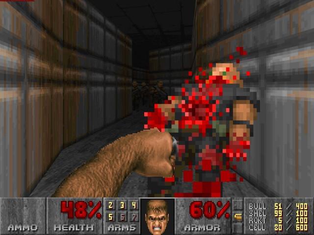 Когда упёрся в стену в игре