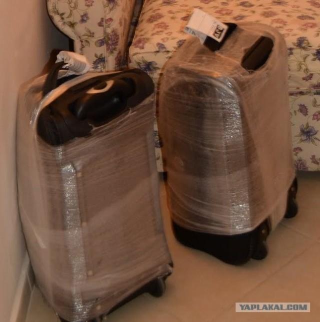 верующим как правильно обернуть чемодан пленкой фото мебель имеет стенок