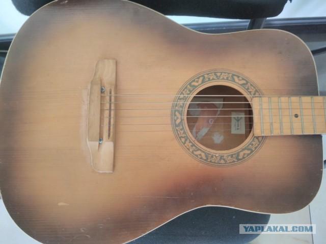 Восстановление старой гитары-калькулятора своими руками в домашних условиях