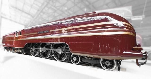 Аэродинамические локомотивы. Поезд Герцогини Гамильтон