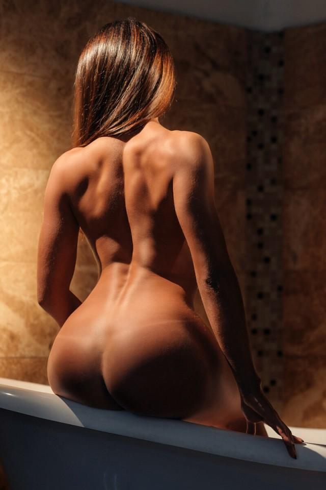 Голая девушка вид со спины видео, нежный трах с кристиной