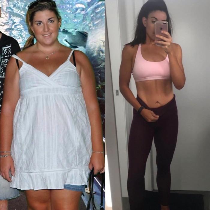 Женщины Которые Сбросили Вес До И После.