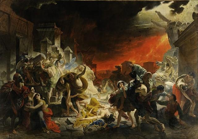 24 августа 79 года нашей эры. Гибель Помпеи. С изюминкой. Даже может быть слегка 18+