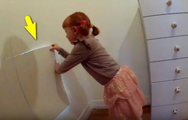 Девочка нашла в доме тайную комнату, а за её дверью всю семью ждал ещё больший сюрприз