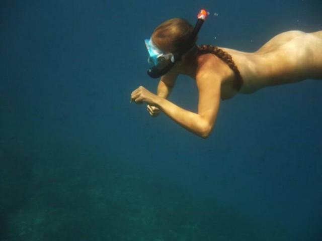 Cum snorkel — photo 13