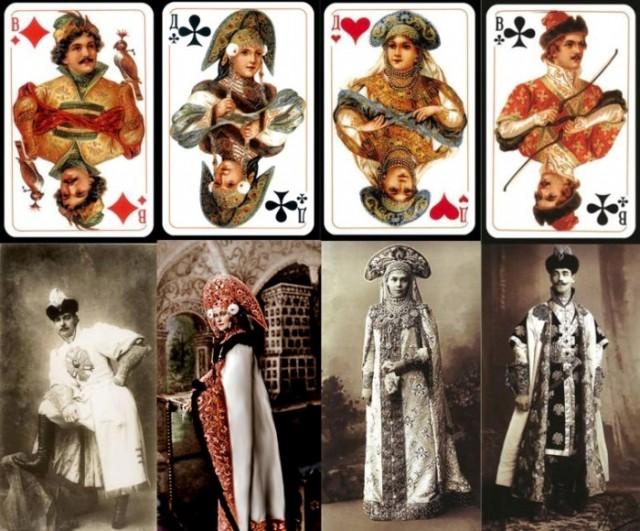 Кто скрывался за рисунками на популярной в СССР колоде карт