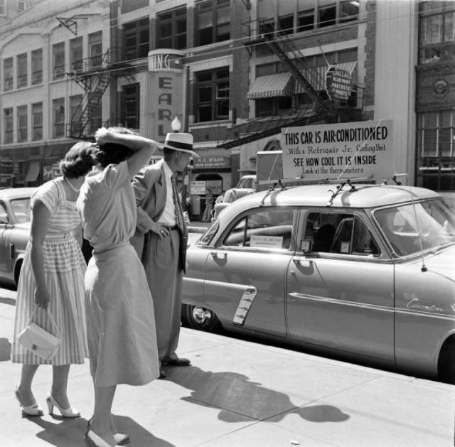 История появления кондиционеров в автомобилях