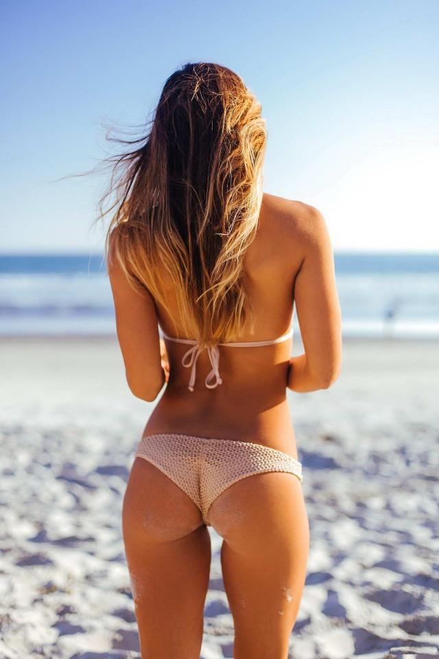 Фото девчонки со спины попки — 6