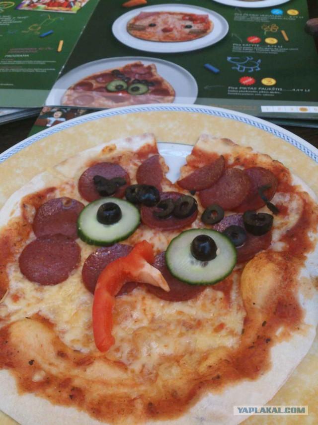 Доставка еды на дом: ожидание и реальность