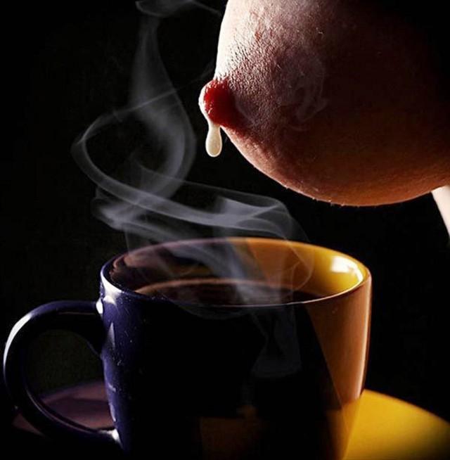 Живем с огоньком как кофе с молоком открытка, добрый