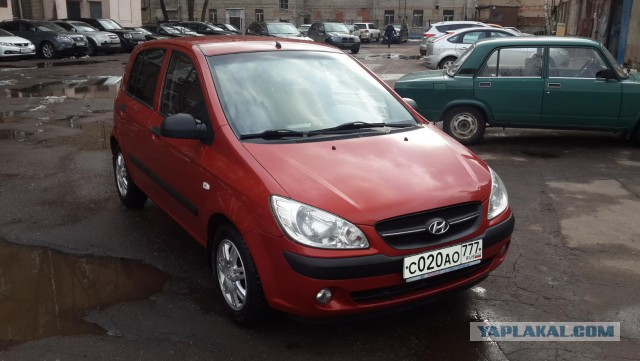 Продам Hyundai Getz 1.6 AT (105 л.с.)