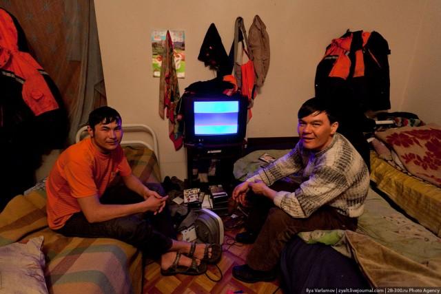 Нелегальное общежитие гастарбайтеров