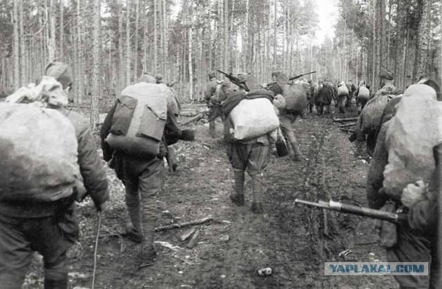 Первая партизанская - последний поход