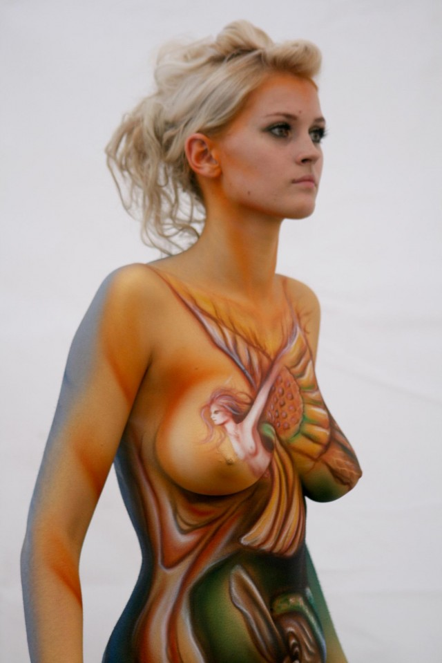 Body painting anal porn pics, body painting sex images