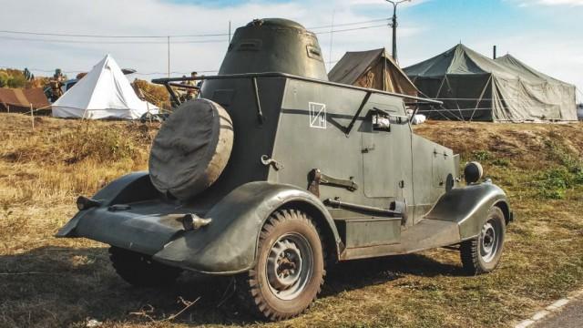 Мускульная сила: тест-драйв бронеавтомобиля БА-20