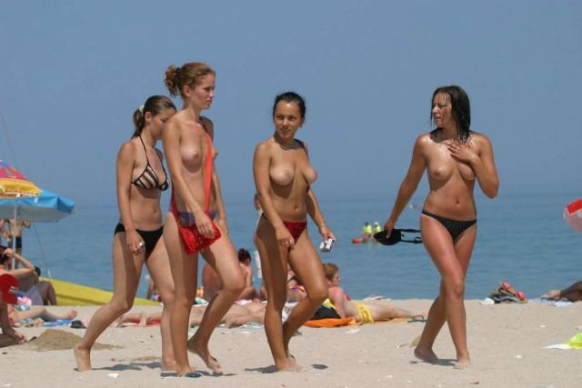 красивые девушки фото на нудиских пляжах